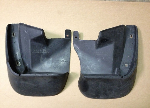 ORIGINAL USED JDM Civic 92 93 94 95 2/3dr only Mud Guard Flaps Rear Pair SR3