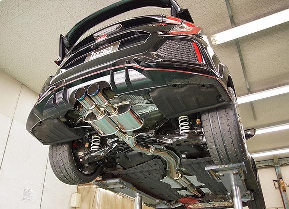 HKS Legamax Premium Exhaust - Honda Civic Type R FK8 17+