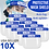 Thumbnail: 10x Face Shield Face Protector Mask Shield (FREE First Class Shipping)