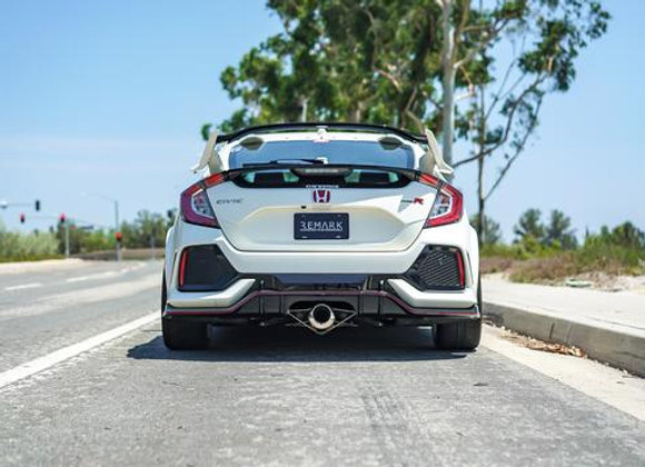 REMARK SPEC I EXHAUST: CIVIC TYPE R 17-18 (STAINLESS STEEL TIPS)