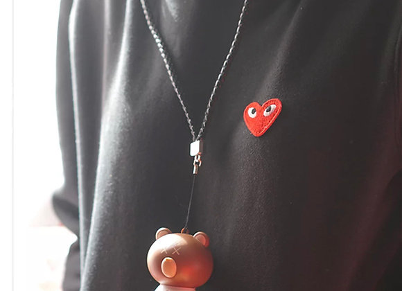 Portable Bear High quality air purifier necklace