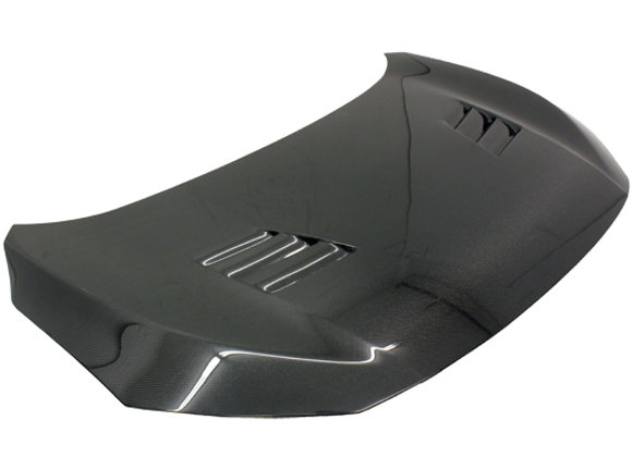 VIS RACING 2016-2018 Honda Civic Techno R Carbon Fiber Hood