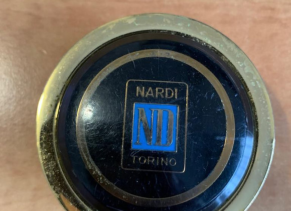 Gold Nardi Torino Classic Steering Wheel Horn Button (#3)