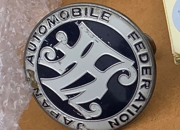 JDM SURPLUS JAF Japan Automobile Federation Emblem