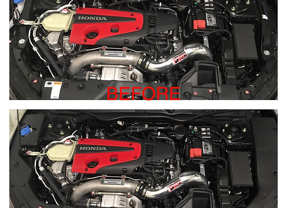 CIVIC 2016-18 10TH GEN ENGINE BAY SIDE PANEL COVERS PAIR- LONG VERSION