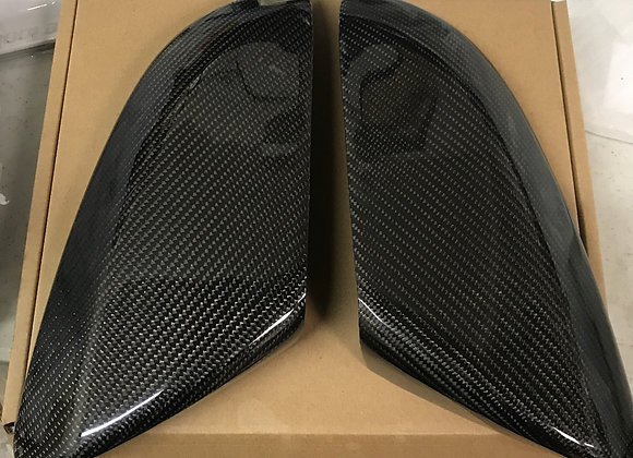 Civic 16-18 Carbon Fiber Mirror Add On Cover