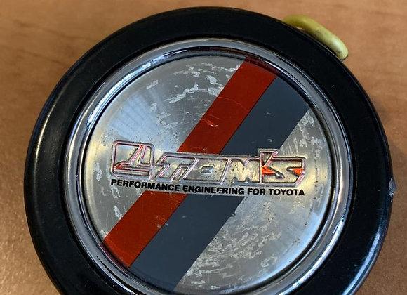 Rare JDM TOYOTA TEAM TOM'S Horn Button sw20 Jza70 Jza80 ae86 ae101 corolla ke70
