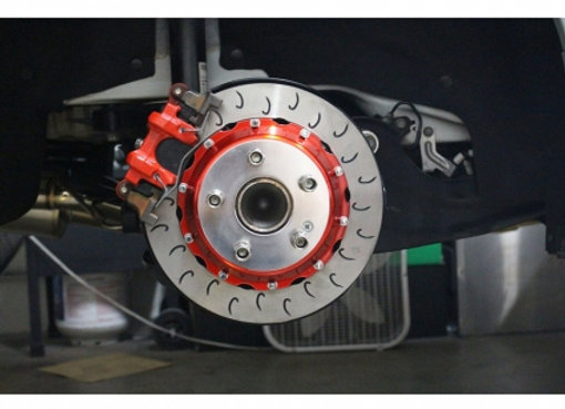 Rolloface 2 Piece Replacement Rotors (Front) - Honda Civic Type R FK8 17+