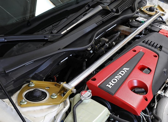J's Racing Strut Tower Bar (Front) - Honda Civic Type R FK8 17+