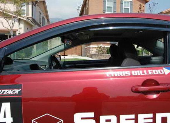 Civic 06 07 08 09 10 2dr Window Visor Sun Rain