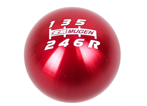 Mugen Shift Knob - Red Anodized