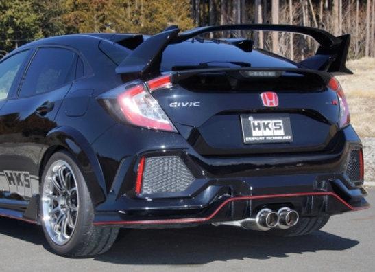 HKS Hi-Power Muffler Spec L Exhaust - Honda Civic Type R FK8 17+