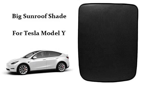 Model Y High Quality Glass Roof Sunshade Sun Visor