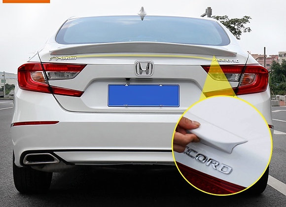 Honda Accord 2018 ABS Unpainted Rear Spoiler Trunk Wing Ducktail
