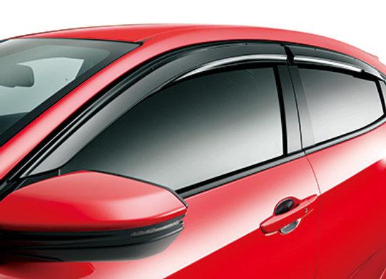 Mugen Window Visor - Honda Civic Type R FK8 17+