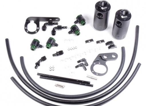 Radium Dual Catch Can Kit - Honda Civic Type R FK8 17+