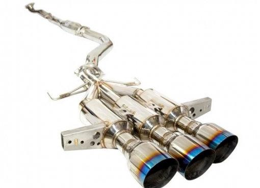 Invidia Gemini R400 Titanium Tip w/ Front Pipe Full Exhaust System - Honda Civic