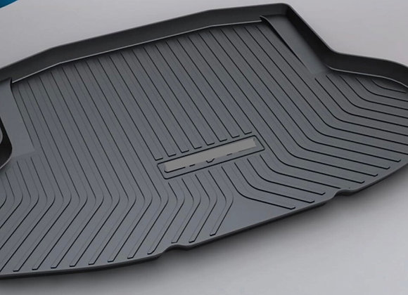 Civic 2008-2018 Rear Trunk Cargo Cover Boot Liner Tray Carpet Floor Mats