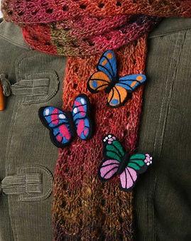 Pillangó bross készlet