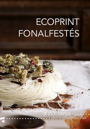 Ecoprint fonalfestés