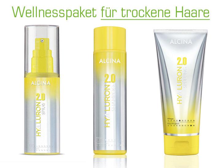 Wellnesspaket für trockene Haare
