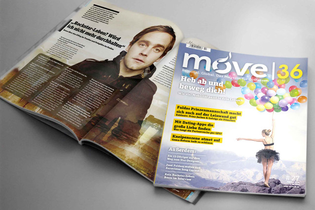MOVE 36 | MAGAZINGESTALTUNG