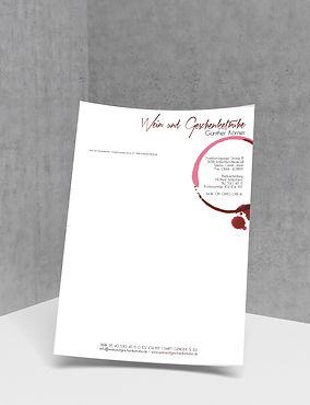 Logo Briefpapier Erstellung Schlüchtern