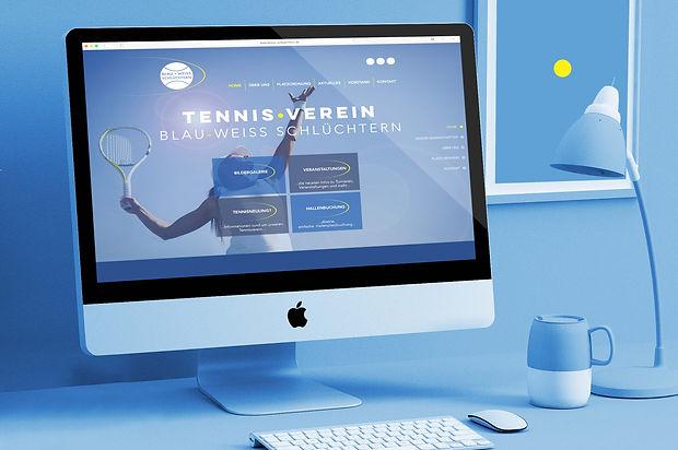 Tennisverein Schlüchtern Website Gestaltung Werbung