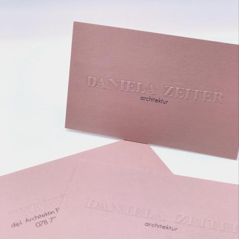 D.ZEITER | VISITENKARTEN