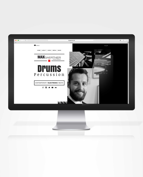 MAX GAERTNER | WEBDESIGN
