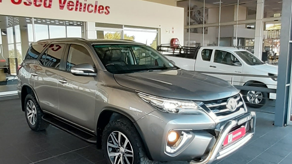 2017 Toyota Fortuner 2.8 Automatic