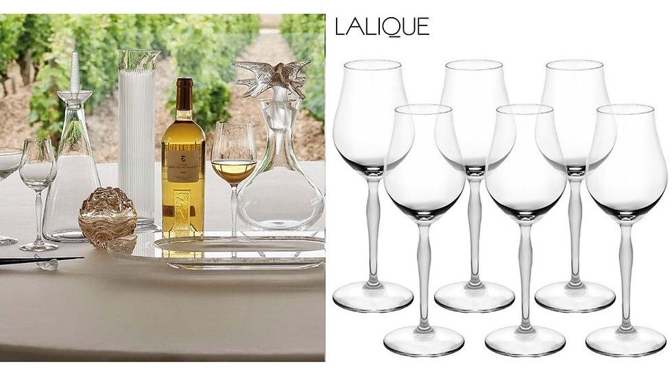 Lalique - cognac 100 punti cristallo trasparente