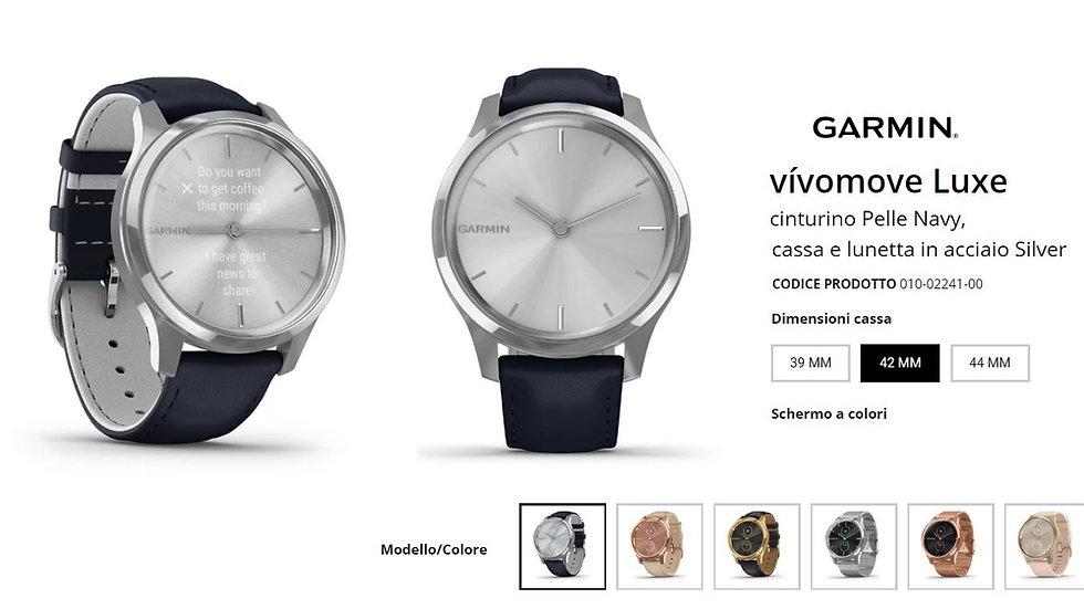 Garmin - Vivomove Luxe