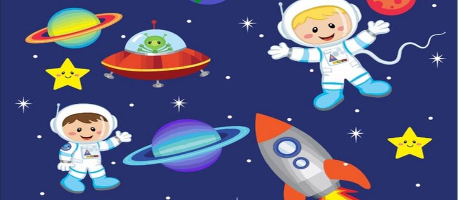 «Космонавтом хочешь стать? Надо много-много знать!»