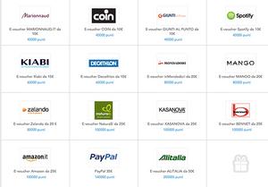 premi Toluna: gifties e Paypal