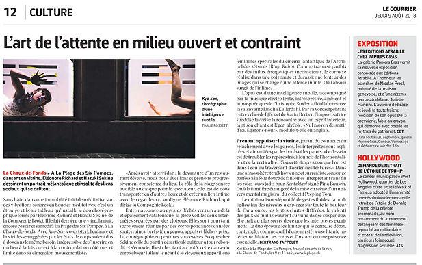 Kyô-Son Le Courrier Bertrand Tappolet
