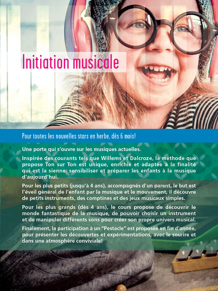 Initiation musicale