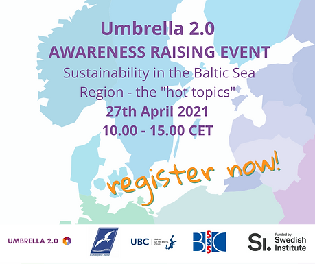 Umbrella 2.0 Awareness Raising Event. Register now!