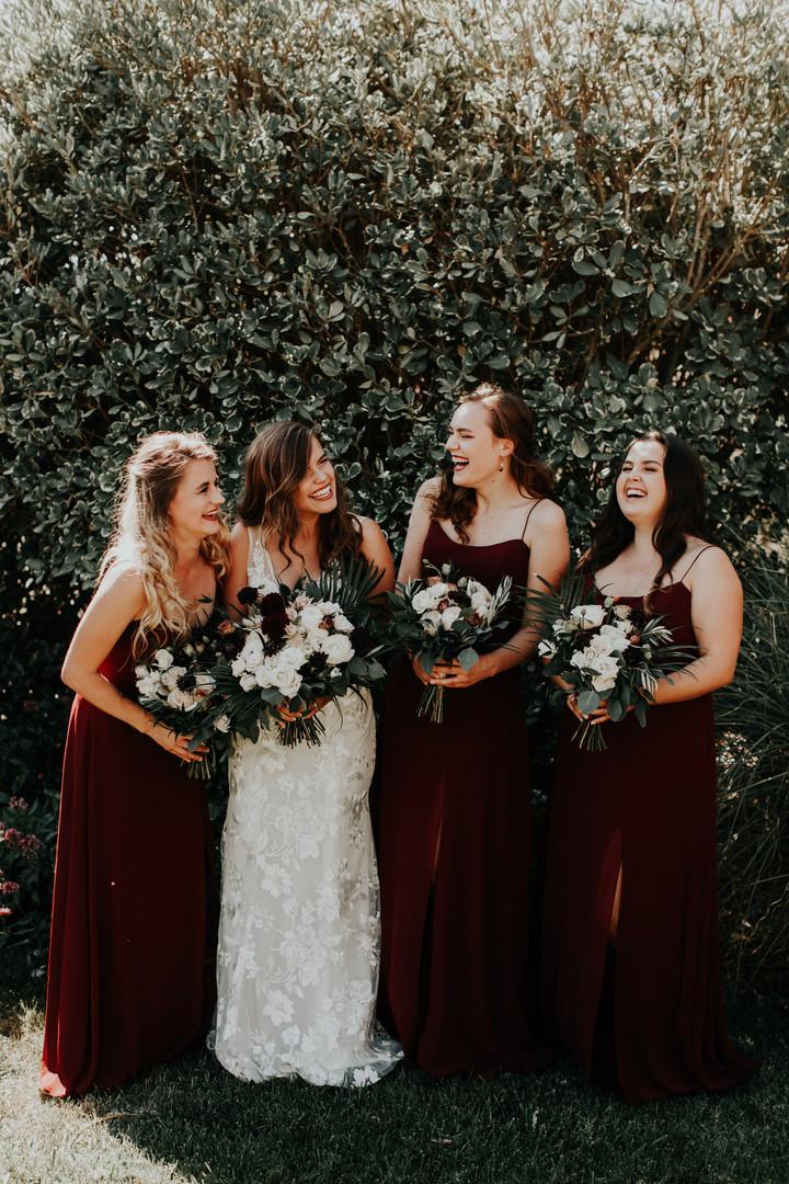 Cass House Garden Bridal Photos