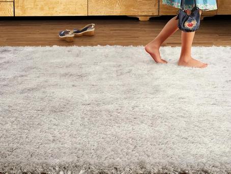 A importância de lavar seus tapetes