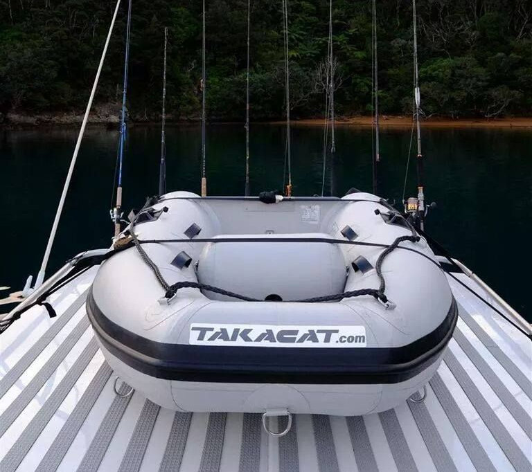 Takacat Sport on deck