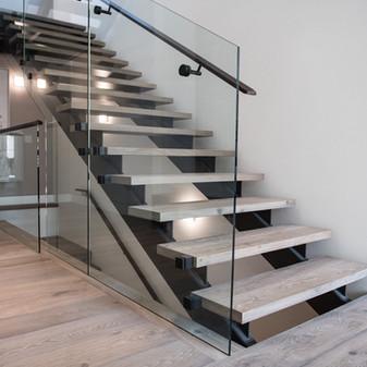 Stone & Wood Stairs, Floor Registers