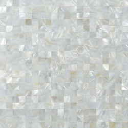 Mother of Pearls white square