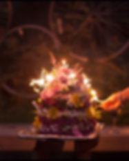 Fleurs et bougies