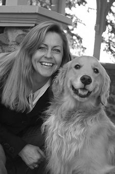 Me and my girl, Maggie, at Atkinson Common, Newburyport, MA  _Photo by Kim Duford