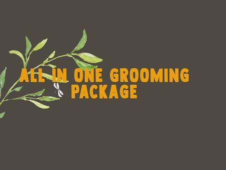 All In One Grooming Package
