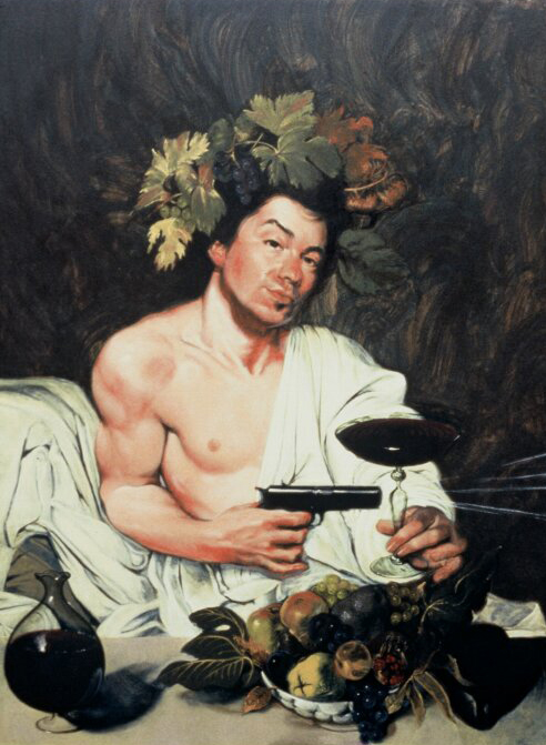 """Portrait of theArtist as Bacchus"""