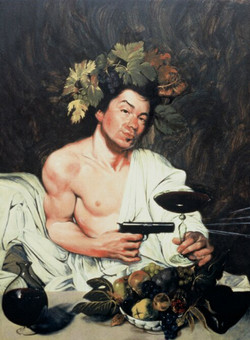 """""""Portrait of theArtist as Bacchus"""""""