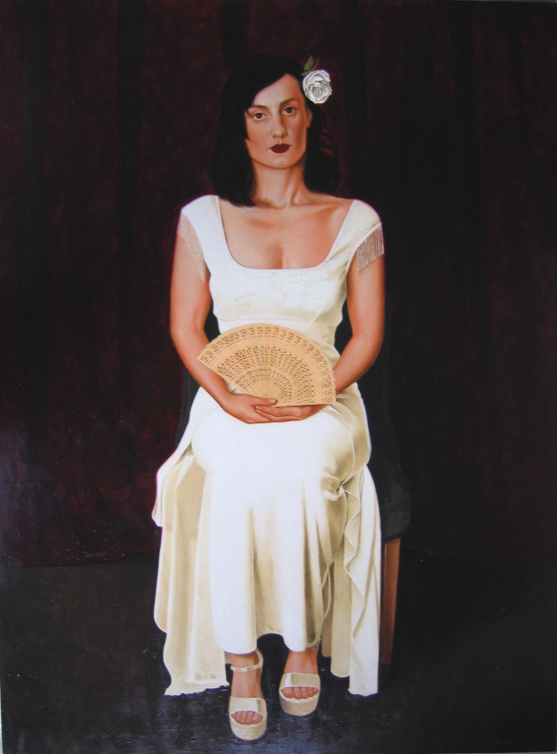 """""""Portrait of Guia Avesani"""""""