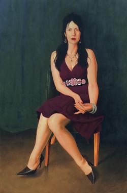 """Portrait of Christine Karas"""